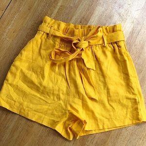 Charlotte Russe Paper Bag Shorts